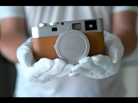 LEICA M9-P Hermès - HOW ITS MADE / FACTORY TOUR. Leica teases our wallets with $50,000 Edition