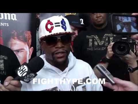 FLOYD MAYWEATHER SAYS JUAN MANUEL MARQUEZ HAS MORE FANS THAN CANELO