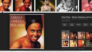 Black History Everyday, Miriam Makeba
