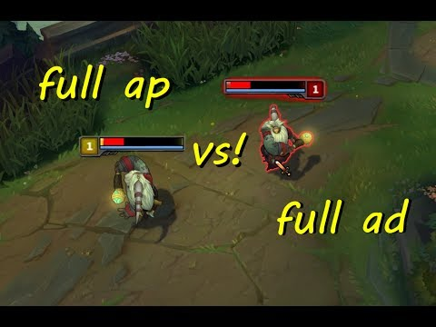FULL AD BARD VS  FULL AP BARD! WHO WINS?!  [ League of Legends ]
