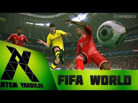 ОБЗОР ИГРЫ FIFA WORLD №1 Я прям про игрок