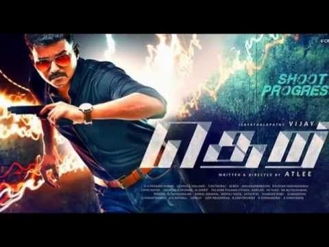 Theri First Look Release Vijay's 59th Cinema Celabration Fans  In Tamil Nadu