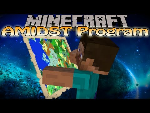 Minecraft AMIDST - Mushroom Biome,Stronghold,Witch Hut Locator & MORE!
