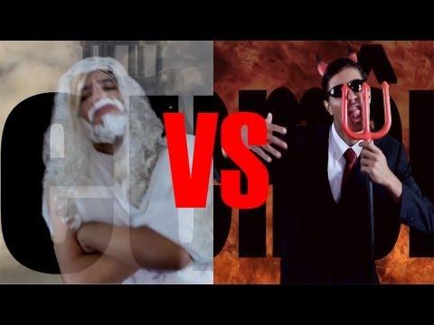 Não é A Mamãe - Batalha De Rap | Deus Vs Demônio♫ video