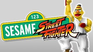 Sesame Street Fighter ? Dead Games Done Quick