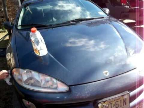 Headlight Restoration Cleaning Defogging Deoxidizing DYI