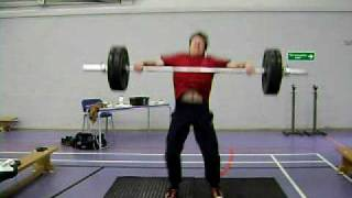 Mike ~ POWER SNATCH 90 KG