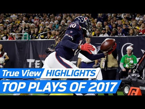 Top 360 & POV NFL freeD Plays of the 2017 Season! | NFL Highlights