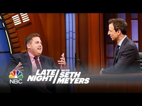 Jonah Hill and Channing Tatum Are from Different Planets - Late Night with Seth Meyers