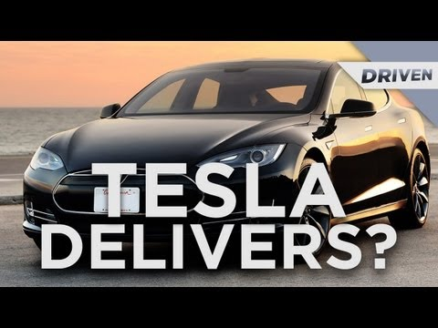Tesla DELIVERS?! - TechnoBuffalo's Driven