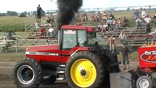 Case IH 8950 pulling St-Damase 2011 part 1 21000lbs CHOQUETTE