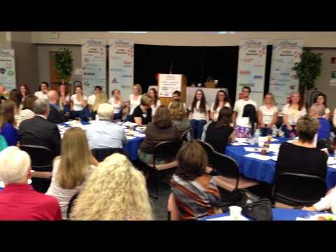 Keller High School Tribute Show Choir performs at Northeast Tarrant Chamber Luncheon