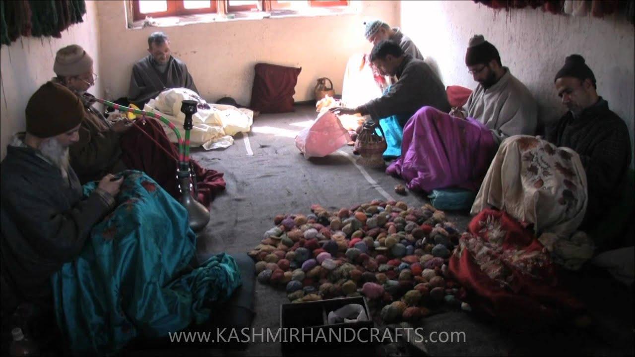 Ibex Goat Kashmir Hand Embroider...