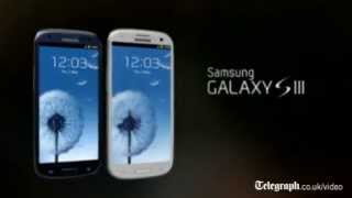 Samsung unveil new Galaxy S3 smartphone at London launch