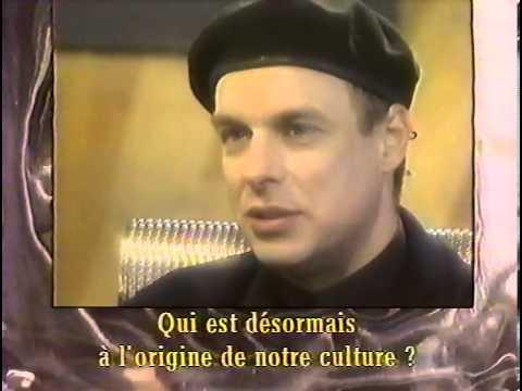 Brian Eno - Ron Arad interview, Encounter documentary, 1993
