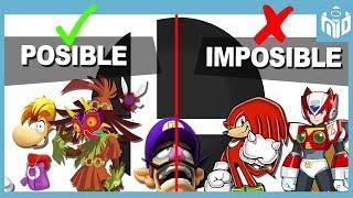 ¿Qué OTROS Personajes PUEDEN aparecer y NO pueden aparecer en Super Smash Bros Ultimate? - N Deluxe
