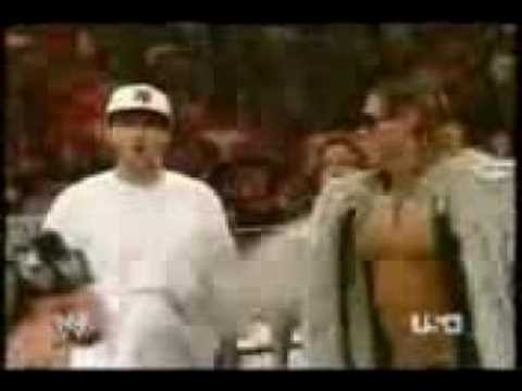 John Cena raps with k fed