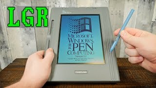 Samsung's First Tablet: The $5,000 PenMaster From 1992!