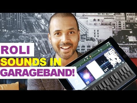 SEABOARD sounds in GarageBand with the FREE NOISE PLUGIN!