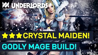 Hyper Roll ★★★ Mage Build! Insane Combos & Godly DMG! | Dota Underlords