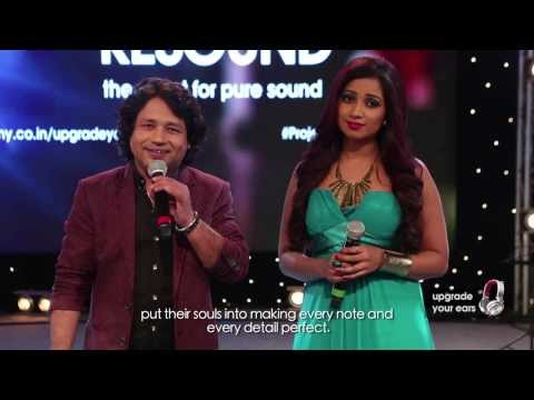 Naina Chaar Song (Official) by Shreya Ghoshal and Kailash Kher live at Sony Project Resound Concert