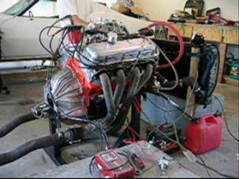 Chevy 454 Motor - First Ever Startup