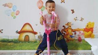 Bộ đồ chơi  DÀN MÍC MINI  Tuấn Minh hát tặng các bạn rất nhiều bài hát mp4