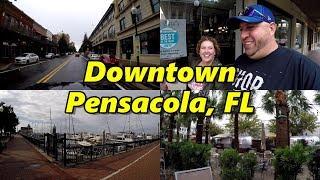 Downtown Pensacola Florida