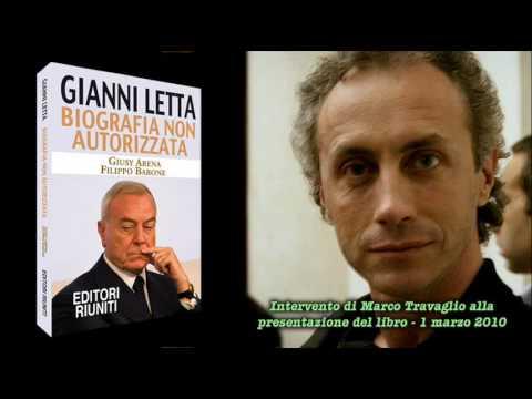 Travaglio ci racconta Gianni Letta, l'innominabile (1marzo2010)