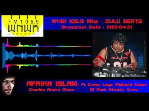 Radio Station: WHBI - 105.9 Mhz Broadcast: Zulu Beats Location: Newark N.J. (USA) Date: 1983-04-21 (fr: 21-04-1983) Master Of Ceremony': Afrika Islam (Charles Andre Glenn) Source: Web Origine...