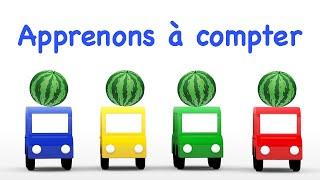 Dessin animé éducatif/ 4 voitures #4voitures