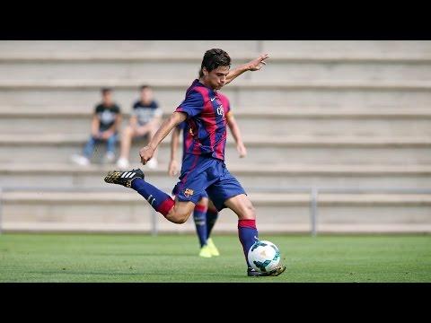 FC Barcelona - Espanyol, 1-0 (Divisió d'Honor Juvenil)