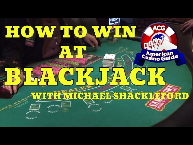 "How to win at blackjack (21) with gambling expert Michael ""Wizard of Odds"" Shackleford"