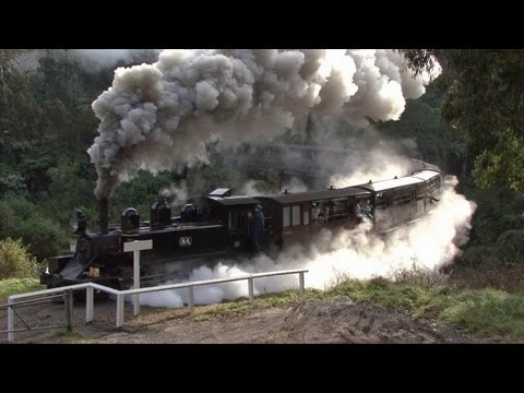 Steam Trains in the Hills - Puffing Billy Railway: Australian Trains