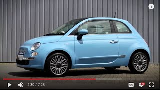 FIAT 500 Lounge Review