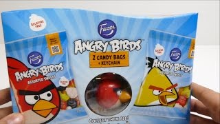 ANGRY BIRDS KEYCHAIN + 2 Candy Bags - Red Bird