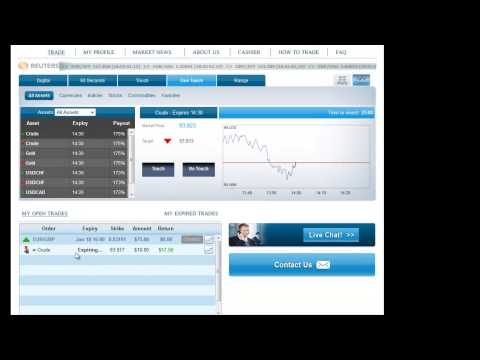 Down and in binary call options