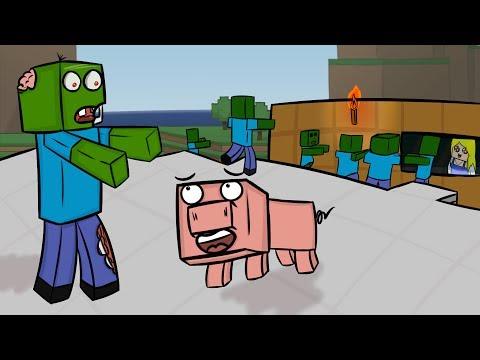 ч.06 - Свинья Тусовщик! - Minecraft Хардкорное выживание
