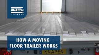 How a moving floor trailer works