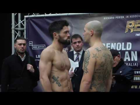 ADAM ETCHES v JOHN RYDER - *FULL & COMPLETE* - WEIGH IN VIDEO / ETCHES v RYDER streaming vf