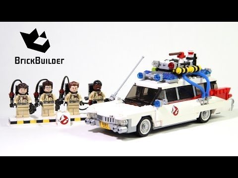 lego 21108 ghostbusters ecto 1 lego speed build youtube. Black Bedroom Furniture Sets. Home Design Ideas