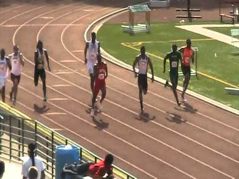 2012 Men's Shamrock Invite 200m Dash (H2)