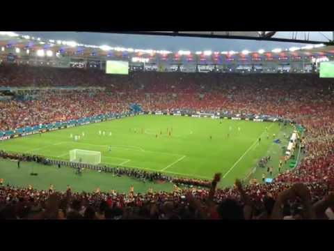 World Cup 2014 - Charles Aránguiz Gol (Spain vs. Chile)