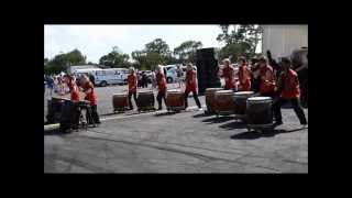 Auckland Japan Day 2012 Waitaiko Japanese Drums Club Part 4