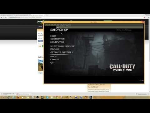 How to Play & Install Custom Zombie Maps for World at War on the PC - Tutorial (Windows 7/8)