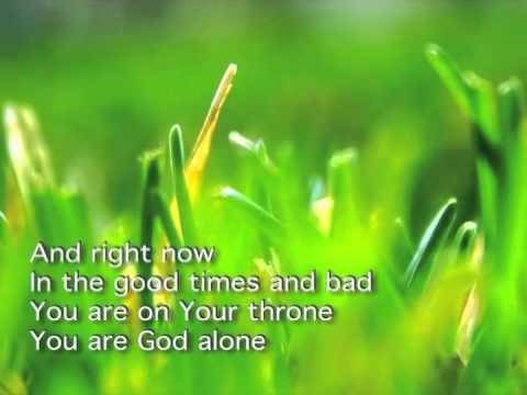 You Are God Alone- Cindy Foote video