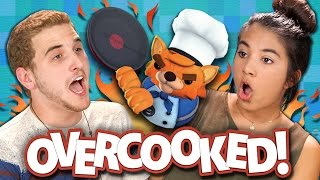 OVERCOOKED CO-OP! BURNT TO DEATH! (Teens React: Gaming)