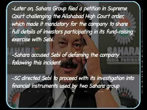 Subrata Roy arrested  Highlights of the Sahara SEBI tussle