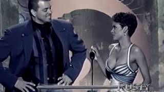 Sinbad and Halle Berry - Essence Awards 1997