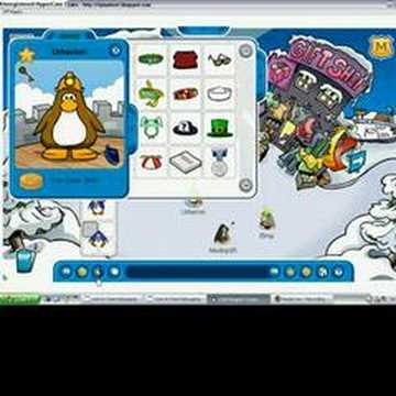 how to dance in club penguin